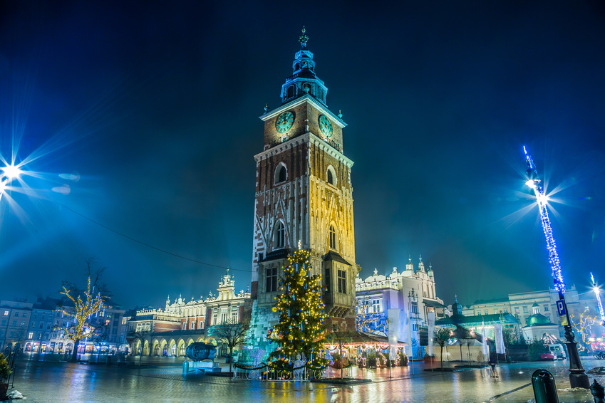 WEEK-END MARCHÉS DE NOËL À CRACOVIE